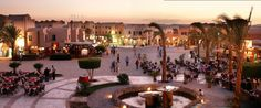 El Gouna is a natural and preserved town with peaceful sandy beaches and turquoise lagoons