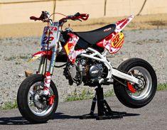 Pit Bike, Motocross, Four Stroke Engine, Honda Cub, Go Kart, Custom Bikes, Bikers, Atv, Cars And Motorcycles