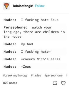 Ideas for funny stuff kids say awesome Ideas for funny stuff kids say awesome Related posts:Percy Jackson & HoO Funnies {Completed} - VIEWS!Percy Jackson (Memes and More) - Number Percy Jackson Fan Art, Percy Jackson Memes, Percy Jackson Books, Percy Jackson Fandom, Hades Percy Jackson, Magnus Chase, Hunger Games, Greek Memes, Oncle Rick