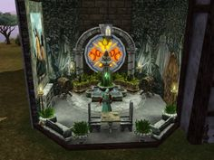 Sims Medieval - Wizard First Floor
