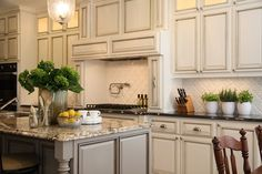 LOVE cabinets all the way to the ceiling!  Gorgeous!!!
