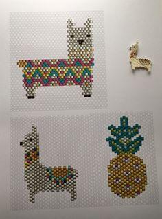 "Bulles de cerises: Tissage brick stitch : tuto de la ""grande augmentation"""