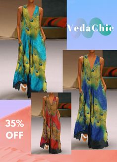 Aqua Oversized Shift Deep V Neck Animal Pockets Casual Dresses (Style Boho Style Dresses, Boho Dress, Dress Skirt, Casual Dresses, Fashion Dresses, Summer Dresses, Fringe Handbags, Feather Dress, Tiered Skirts