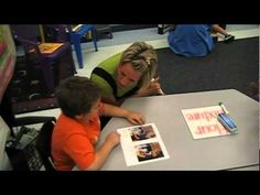 Amazing!  Kindergarten Guided Reading - After watching this video, it's obvious that she has done a lot of prep work before video taping this group. The students know her cute little songs and sayings. She is a Kindergarten teacher, but these kids have some pretty intense vocabulary going on in their guided reading group. Great video!