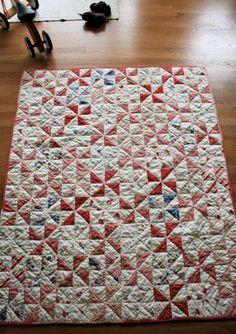all buttoned up pinwheel quilt