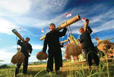 seren-taun, West Java, Indonesia...ceremony for praying how God has blessed the farm