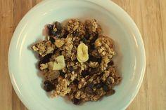 How to make your home made Crunchy Muesli www.facebook.com/Eatgoodlivegoodcom/
