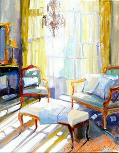SUNLIT ROOM, Celilia Ross Lee
