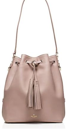 Tan hobo shoulder strap Kate Spade bag