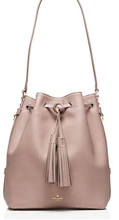 Tan hobo shoulder strap Kate Spade bag