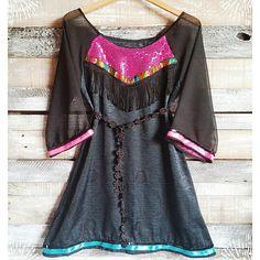 ⭐⭐⭐ Vestidetes con mezcla de texturas + colores + estilos = eclécticos = Para chicas con personalidad y actitud ... PUROAMORDISEÑO ⭐⭐⭐