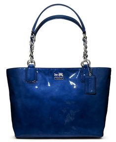 COACH MADISON PATENT TOTE - Coach Handbags - Handbags & Accessories - Macy's