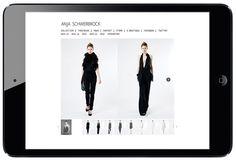 Anja  Schwerbrock Website for the German fashion  designer Anja Schwerbrock. Art Direction: Anja Schwerbrock & Tim Peters