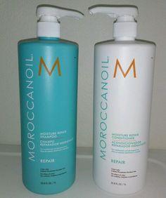 MOROCCANOIL MOISTURE REPAIR SHAMPOO AND CONDITIONER DUO 33.8 FL.OZ  BRAND NEW #MOROCCANOIL $93 /ebay