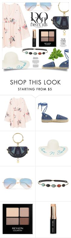 """Simple Outfit #299"" by rizkafathi ❤ liked on Polyvore featuring MANGO, MICHAEL Michael Kors, Chloé, New Directions, Ray-Ban, Topshop, Revlon, Bobbi Brown Cosmetics, Anja and polyvoreeditorial"