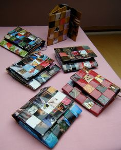 Anzouya: Recycle Magazine Pages into A Woven Purse - Tutorial Más Recycled Magazine Crafts, Recycled Paper Crafts, Recycled Magazines, Newspaper Crafts, Recycled Crafts, Recycling Facts, Paper Purse, Paper Weaving, Purse Tutorial