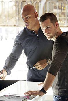 NCIS LA- love these 2 ... Sam Hannah and G Callen ...