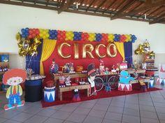 Momento Mágico Decorações : Circo do Rafael