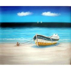 Image detail for -Boat at Beach -:
