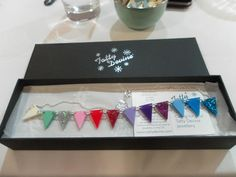 We love Ingrid's review of  our Bunting Necklace Workshop at the Baltic Mill: http://seethecolts.blogspot.co.uk/2013/07/tatty-devine-workshop-at-baltic-mill.html