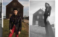 Power in W Magazine by Inez van Lamsweerde and Vinoodh Matadin, fashion editor Edward Enninful, September 2016.
