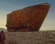 Sandcrawler (CMC Digger Crawler) From Star Wars IV: A Hew Hope, 1977.