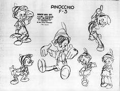 Model Sheet - Pinocchio