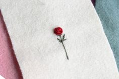I hope everyone is enjoying Valentines Day doing something lovely to treat themselves, or a person they care about 🥀 Hand Embroidery Videos, Embroidery Stitches Tutorial, Embroidery On Clothes, Learn Embroidery, Hand Embroidery Stitches, Embroidery Hoop Art, Beaded Embroidery, Cross Stitch Embroidery, Floral Embroidery Patterns