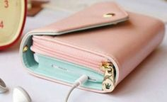 $11 for Crown Smartphone Wallet Clutch - 7 Colors Available