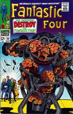 Fantastic Four 68 - Stan Lee and Jack Kirby