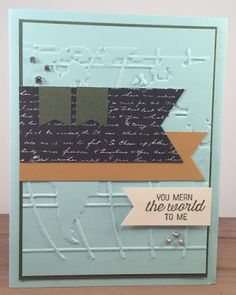 Stampsational: Stampin' Celebration SC119 Going Worldy