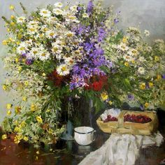 Decorating Your Home, Still Life, Drawings, Flowers, Painting, Google, Beautiful, Ideas, Daisies