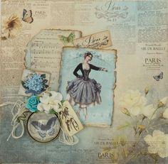 Papierset Ballerina « LaBlanche