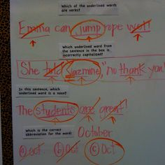 2nd grade CST stems from released test questions-Board language