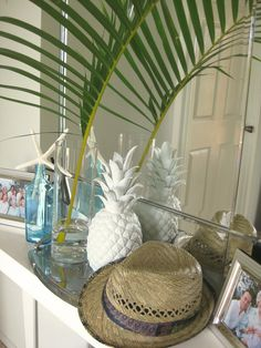 coastal home entry by zoe milburn want that pineapple such a obsession