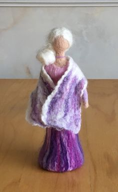 Waldorf inspired Doll Gift Ideas This Doll is carefully hand felted out of Merino wool by using a needle felting technique. Shes free standing and is about 22cms tall. Handmade with Love. Please contact me if you want a different quantity or if you wish me to calculate shipping on
