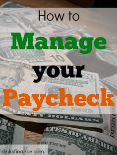 Need help managing your paycheck?Here's what you can do!