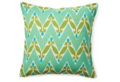 Color scheme ideas? Are should I hold off? Ivy 16x16 Pillow, Green on OneKingsLane.com