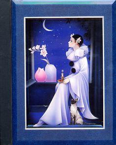 Illustrations, Illustration Art, Clown Paintings, Pierrot Clown, Au Ideas, Beauty Night, Romance Art, Send In The Clowns, Art Costume