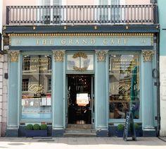 The Grand Café  facade, 84 The High Street, Oxford