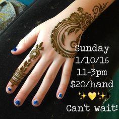 See you tomorrow, henna lovers! #sacredadornment #ilovemyjob #hennamagic #hennapro #hennalove #heartfirehenna