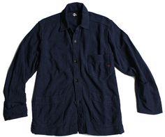 45R / インディゴギマニットジャケット