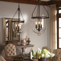65047-715,Westminster Large Three Light Indoor Pendant in Autumn Bronze with Cloche Glass,Autumn Bronze