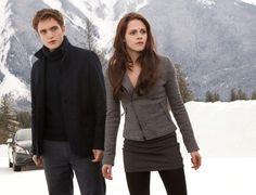 Bella and Edward from Breaking Dawn Twilight Saga