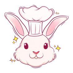 Vector Hand, Fabric Bags, Cute Illustration, Hand Drawn, Pikachu, How To Draw Hands, Bunny, Logo Design, Kawaii