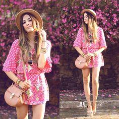 Get this look: http://lb.nu/look/7771348  More looks by Flávia Desgranges van der Linden: http://lb.nu/fashioncoolture  Items in this look:  Displicent Dress   #bohemian #casual #romantic