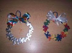Handmade Autism Awareness Christmas Ornament | Teaching, Messages ...