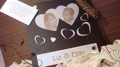 Convite casamento com foto dos noivos