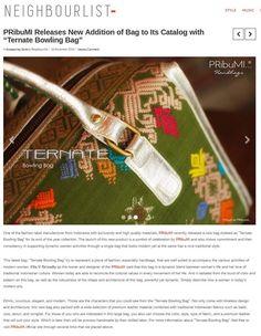 Proud as PRibuMI...®   http://neighbourlist.com/2014/11/pribumi-releases-new-addition-bag-catalog-ternate-bowling-bag/