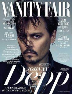 Johnny Depp for Vanity Fair Italia 9th September 2015